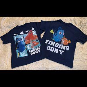 Disney Finding Dory Lot of 2 children's size M